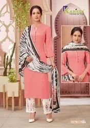 Party Wear Cotton Embroidered Ladies Garment