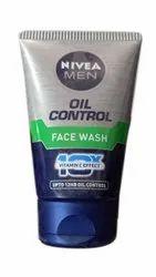 Nivea Men Oil Control Face Wash, Gel, Packaging Size: 100g