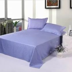 Cotton Double Bed Sheets, For Hotel, Size: 60 X 90 Inch