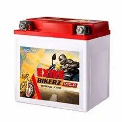 Capacity: 4Ah Exide Bike VRLA Battery FXV0-BVTZ4, Voltage: 12 V, Maximum Charging Current: 0.3, Dimension: 113X70X85mm