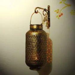 Round Iron Hanging Lamp, For Decorative