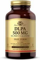 Solgar DLPA 500 mg 100 Vegetable Capsules, Non Prescription
