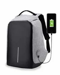 Multicolor Anti Theft Backpack