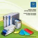 500 Pocket Business Card Holder With Case & Index