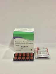Paracetamol Phenylephrine Caffeine & Diphenhydramine Hcl Tablets