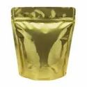 Silver And Golden Stand Up Pouch Bags