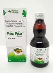 Carica Papaya Leaf Ext,tinospora Cordifolia & Goat Milk (paw Paw )
