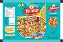 Ishwar Namkeen Navaratan Mix, Packaging Size: 50gm