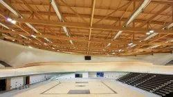 MS and FRP Prefabricated Sport Stadium