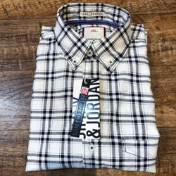 Cotton Checks Men White Check Formal Shirt, Machine wash