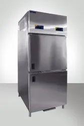 Hariom Silver 2 Door Vertical Refrigerator, Capacity: 700 Ltr