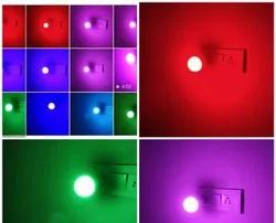 Maestro 9W Coloured LED Bulb, For Indoor