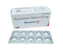 Rosuvastatin Tablets 20 Mg
