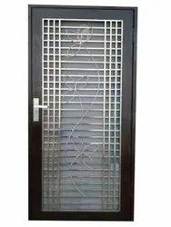 Standard Polished Modular Steel Door, Single