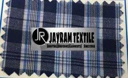 Blue Chex Tamil Nadu School Uniform Fabric
