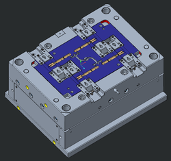 CAD / CAM Designing Firm Injection Molds Design Services