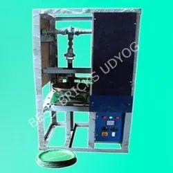Single Die Crank Paper Plate Making Machine