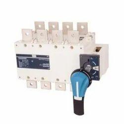 Socomec Sircover 100A, 160A & 250A Four Pole (4P / FP) Manual Transfer Switch, 415 V AC