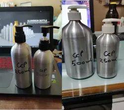 Shampoo Aluminium Bottle