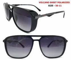 Volcano Aviator Unisex Party Wear Full Frame Sunglass