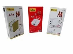 Mobile Accessories Cardboard Packaging Box, 6x4x2 Inches