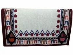 Handloom Cotton Carpet, Size: 40x30 Inch