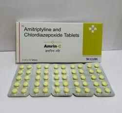 Chlordiazepoxide 5 mg & Amitriptyline HCL 12.5 mg