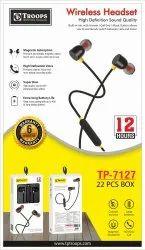 TP Troops Wireless Headset 12hrs 6m Guarantee 7127  (Box-25)  Earphone