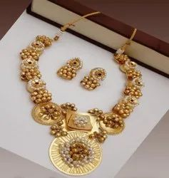 Ghungroo Necklace Set, Occasion: Party