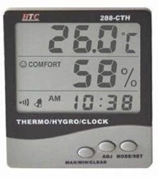 THERMOHYGROMETER WITH PROBE