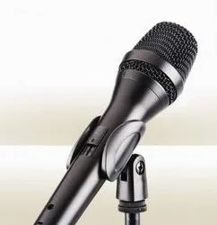 Black Dynamic Benson Acoustics Wired Microphone, Model Name/Number: BR-220
