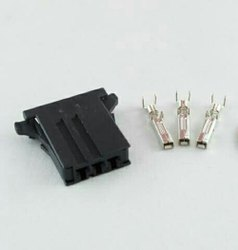 Fanuc AMP CONNECTOR 3 PIN A02B-0120-K323, Hard Plastic