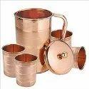 Tach Copper Jug Set
