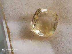 Natural yellow sapphire - 4 carat