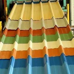 Colour Coated GI Roofing Shade