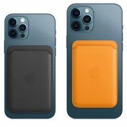 Leather Apple iPhones iPhone 12 Series Mobile Cover Cases With Mag Case