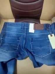 Button Denim Mens Blue Formal Jeans, Waist Size: 30