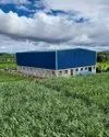 Mild Steel Panel Build Prefabricated Factory Shed, For Shop