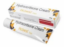 Hydrocortisone Acetate Cream 1 % w/w (Hcbest Cream), Packaging Type: Lami Tube, Packaging Size: 20 Gm