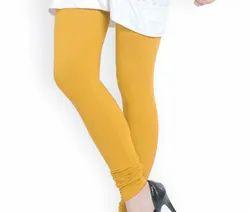 Churidar Plain Ladies 4 Way Lycra Legging, Size: Medium
