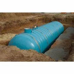 FRP Underground Water Storage Tank