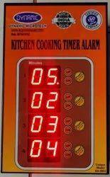 Kitchen Timer Digital 4 / 8 Channel For Hotel