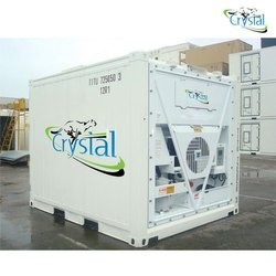 Crystal 10 Feet Icy Store Refrigerated Container