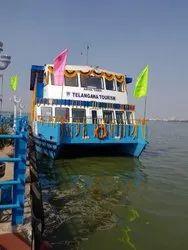 Arya Tara - FRP Double Decker Luxury Catamaran 80 To 100 Seater Cruise Boat