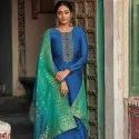 Tussar Silk Unstitched Suit Material