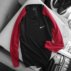 4 Way Lycra Mens Nike Full Sleeve T Shirt, Size: Small