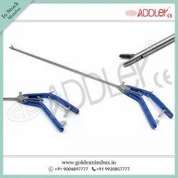 Titanium Straight Needle Holder Storz Type 5mm Brand New Addler Laparoscopy, Model Name/Number: Addler0101
