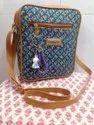 Designer Ikkat Sling Bags