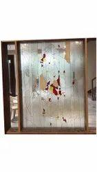 Designer Window Glass, Thickness: 10 Mm