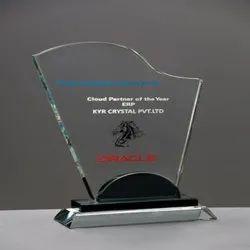 Color Glass Trophy